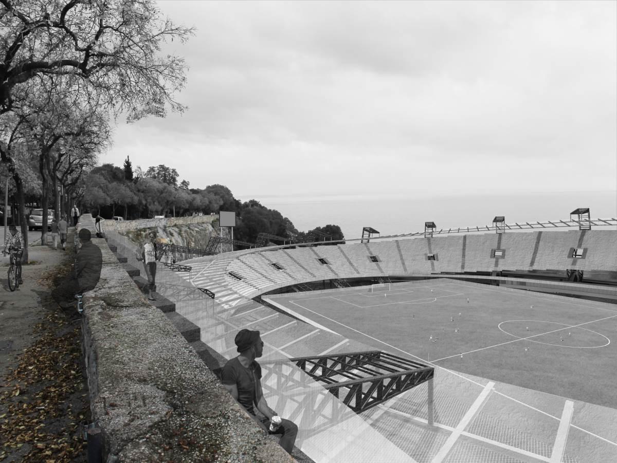 arhitektura sportskog objekta